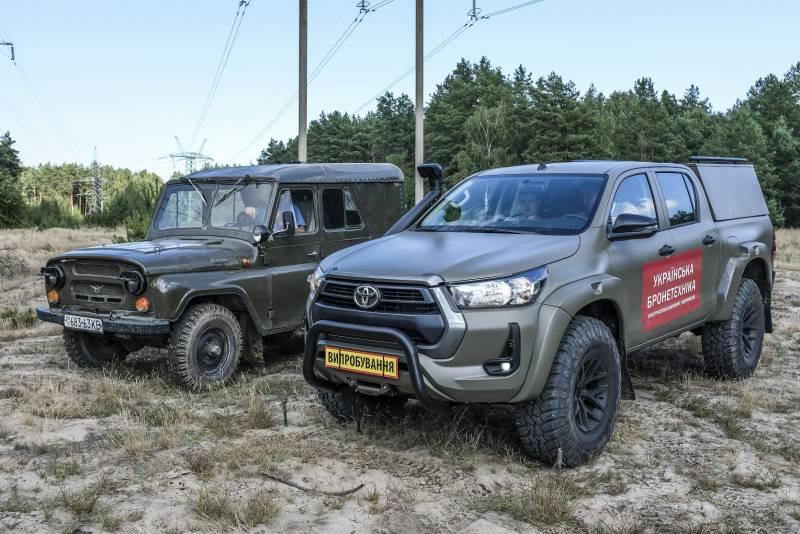 «Сайгак» на базе «Тойоты» вместо УАЗ-469: на Украине представили внедорожник на замену советского