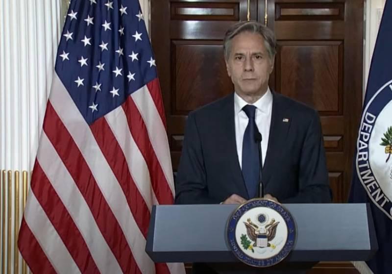 Блинкен: Военная миссия в Афганистане завершена, но наша дипломатическая работа на этом направлении продолжится - из Катара