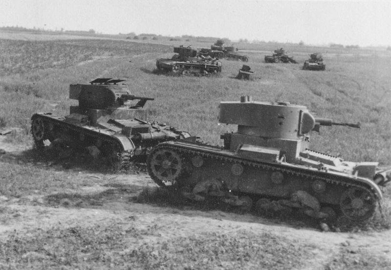 Marcha de la muerte. Batalla de tanques en el área de Dubno - Brody