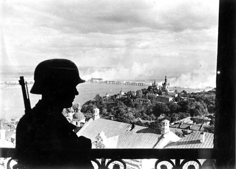 Как немцы брали Киев
