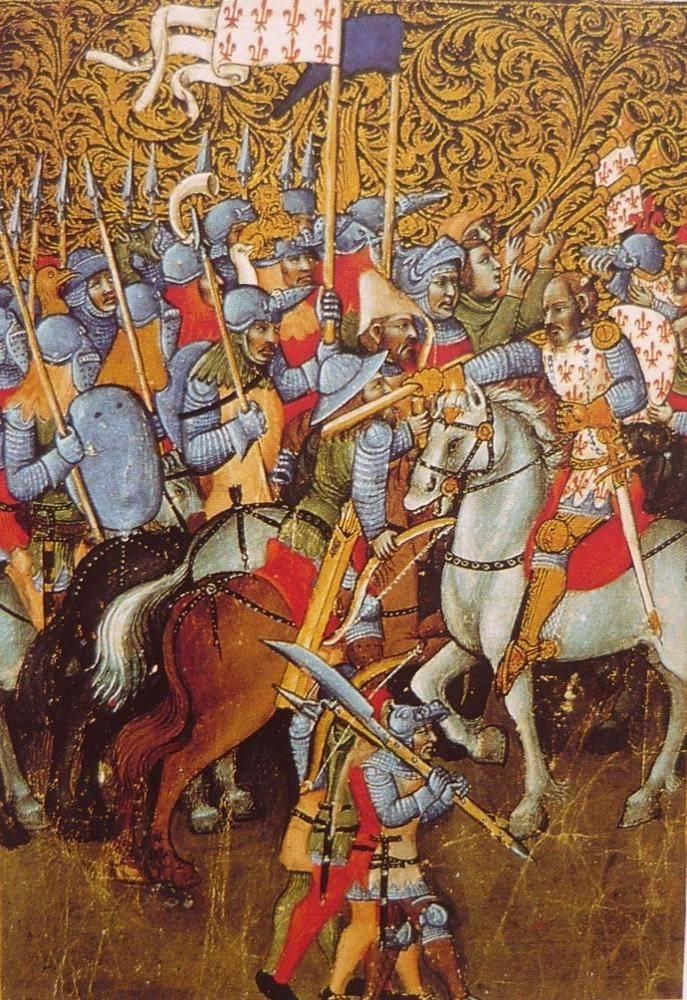 Рыцари Столетней войны: капитаны, эркоршеры и франк-аршеры