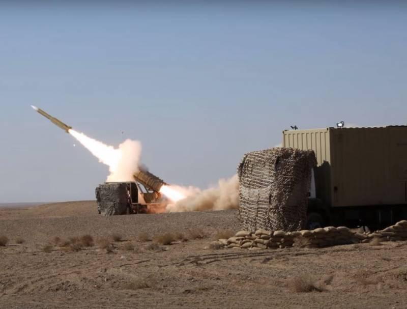 Иран испытал новый ракетный комплекс Mersad-16