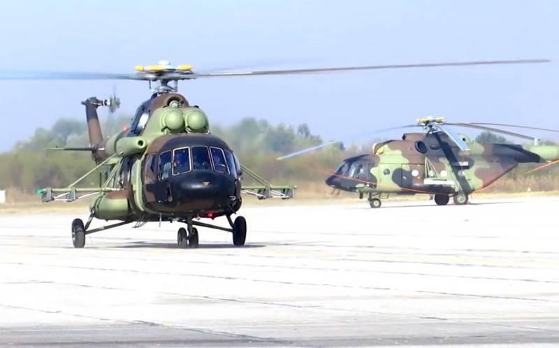 Занять российскую нишу: Турция собирается обслуживать более тысячи вертолётов Ми-8/17