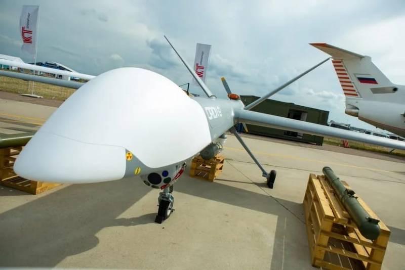 Дальность применения ударного беспилотника «Орион-Э» будет увеличена