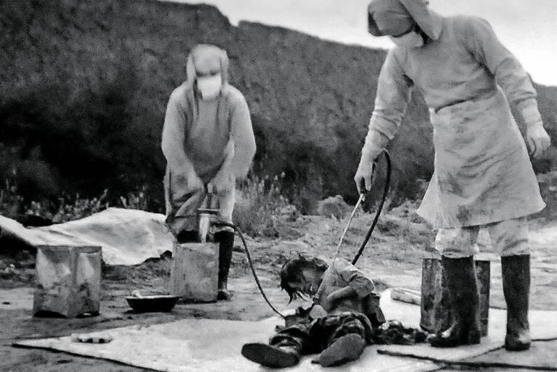 Бактериологическое оружие Японской империи