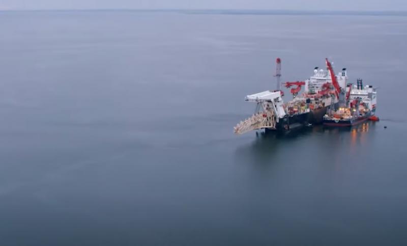 На дно Балтийского моря уложена последняя труба «Северного потока – 2»