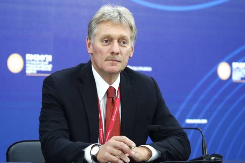 Песков выразил позицию Кремля по статусу талибов