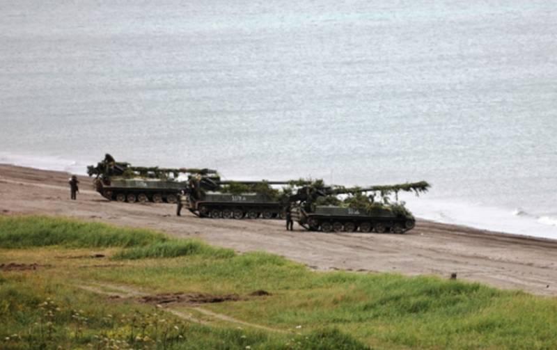 Минобороны начало тактические военные учения на Курильских островах