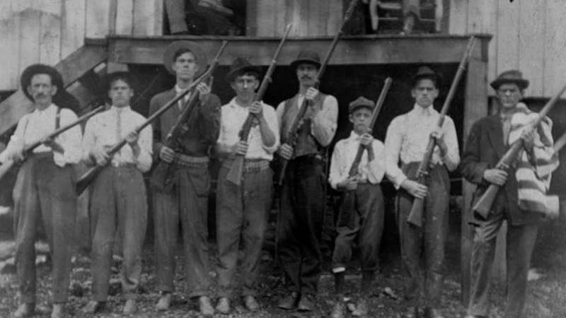 100 лет со дня битвы при горе Блэр