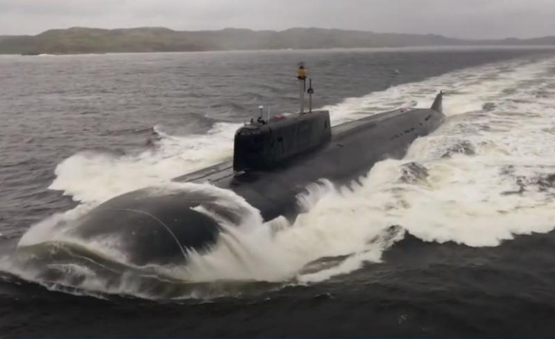 АПРК Северного флота «Орёл» выполнил стрельбу ракетным комплексом «Гранит»