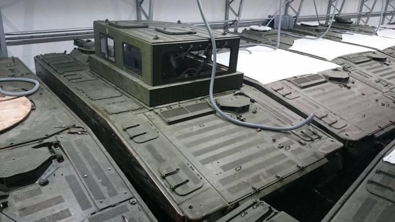 Эстония вооружается бронетехникой, собранной из корпусов БМП CV90