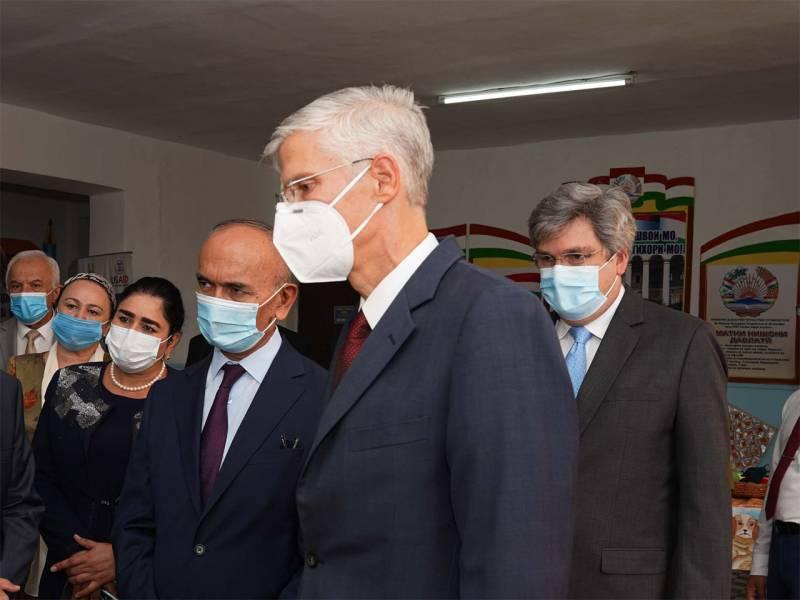 В Душанбе объяснили вручение ноты протеста американскому послу