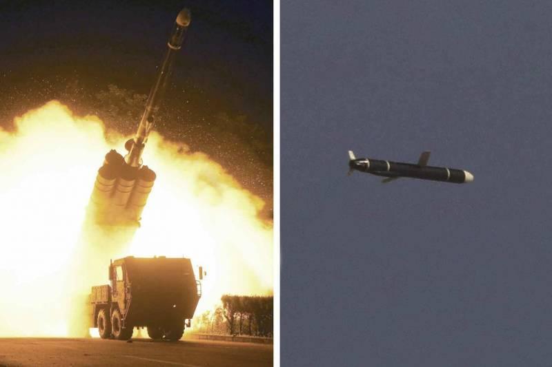 Северная Корея провела второе за последние дни испытание неустановленных ракет