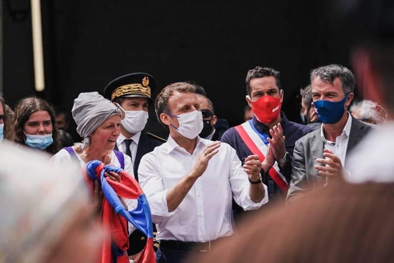 Макрон: Французские военные ликвидировали главаря ИГ в Африке