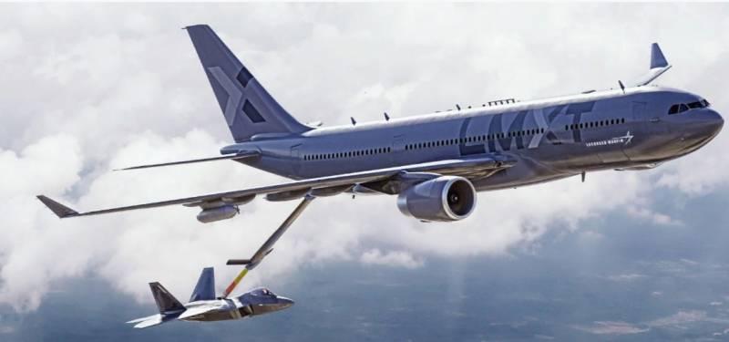 LMXT - проект за самолет за зареждане с гориво, базиран на Airbus, представен в САЩ