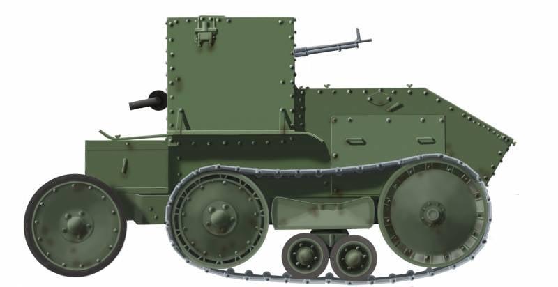 Баллада о танкетке: танкетка Мартеля