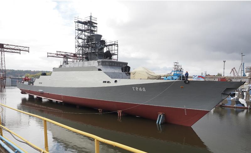 Десятый МРК проекта 21631 «Буян-М» спущен на воду в Зеленодольске