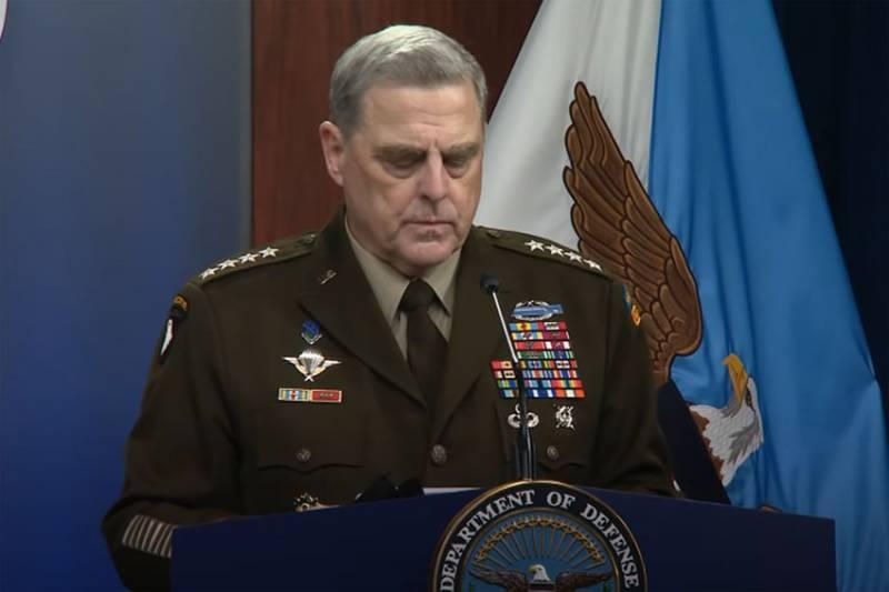 В США обсуждают данные о звонке генерала Милли в КНР с заявлением о том, что военные не позволят Трампу развязать ядерную войну