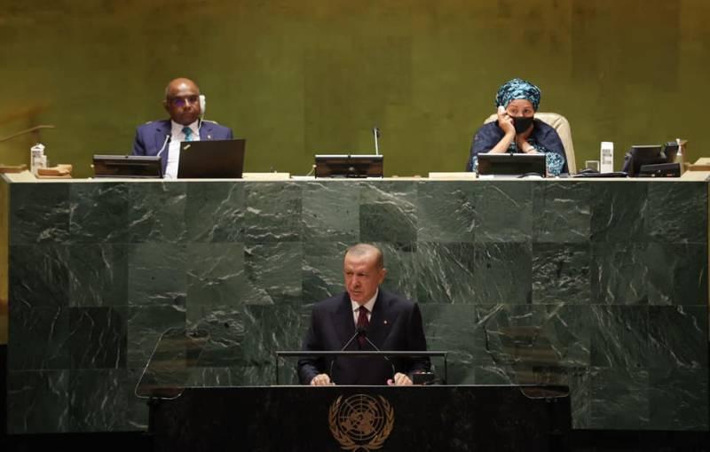 Эксперты: Эрдоган в ООН поднял тему Крыма в связи со словами Путина о незаконности присутствия ряда иностранных контингентов в Сирии