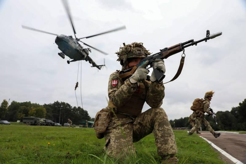 Как проходят украинские военные учения Объединённые усилия-2021: объявленное уничтожение целей на суше, на воде и в воздухе