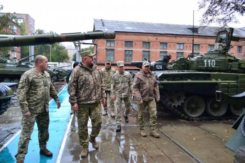 Главком ВСУ : Половина украинских танков прошла модернизацию