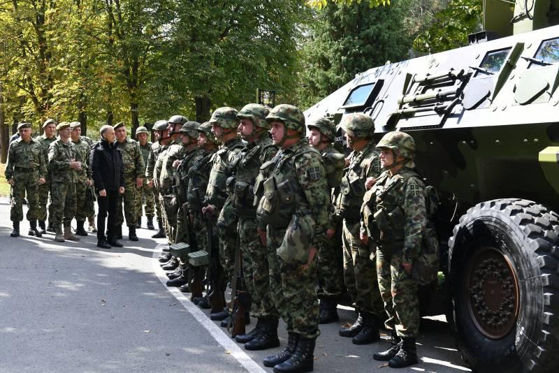 Сербия предупредила НАТО о готовности войти в Косово