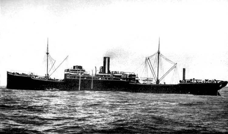 Голодный «Волк». Одиссея германского вспомогательного крейсера «Вольф»