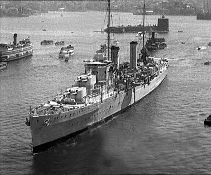 Боевые корабли. Крейсера. Дикие собаки динго