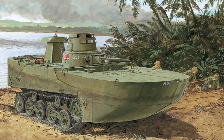 Амфибия Su-Ki – японский аналог DUKW-353