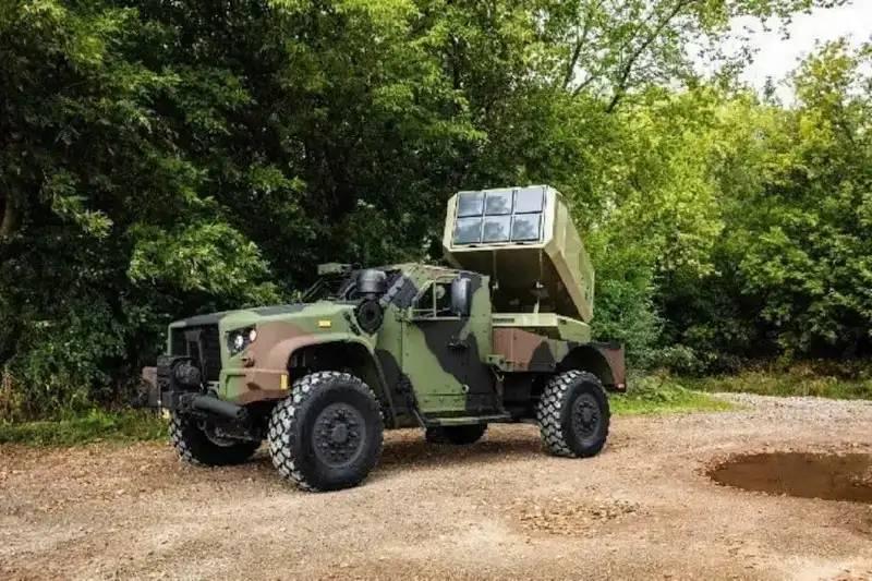 Selbstfahrender Komplex mit patrouillierender Munition OPF-M für das USMC