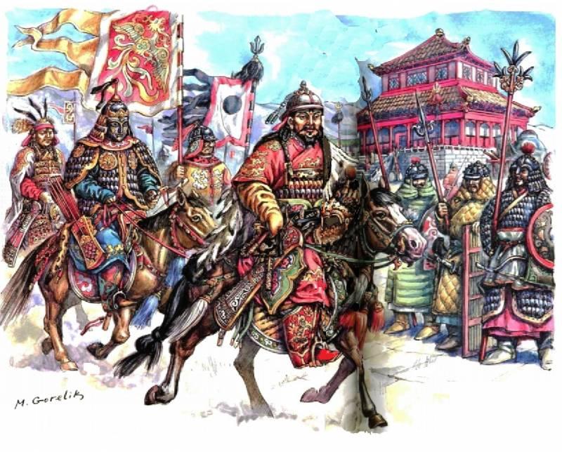 Монголы против китайской империи Сун