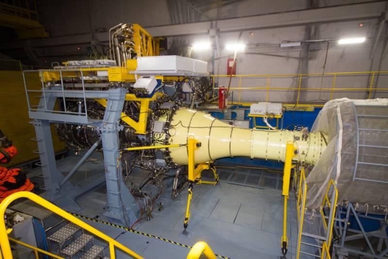 В России собрали газогенератор для гигантского авиадвигателя ПД-35
