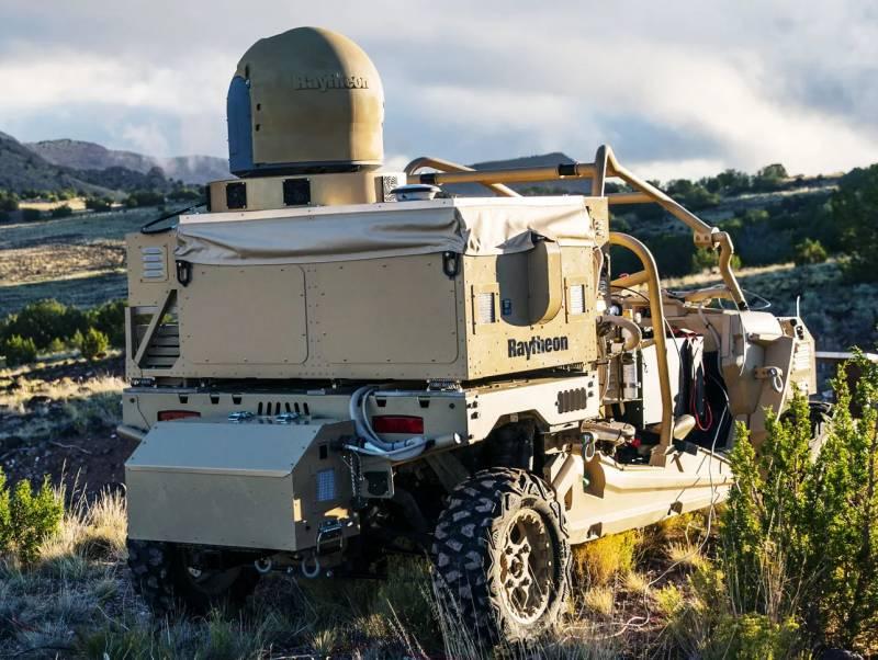Боевой лазер C-UAS HELWS для ВМС США