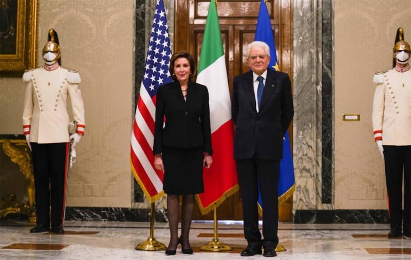 Нэнси Пелоси эвакуирована из Ватикана: сообщается о причинах