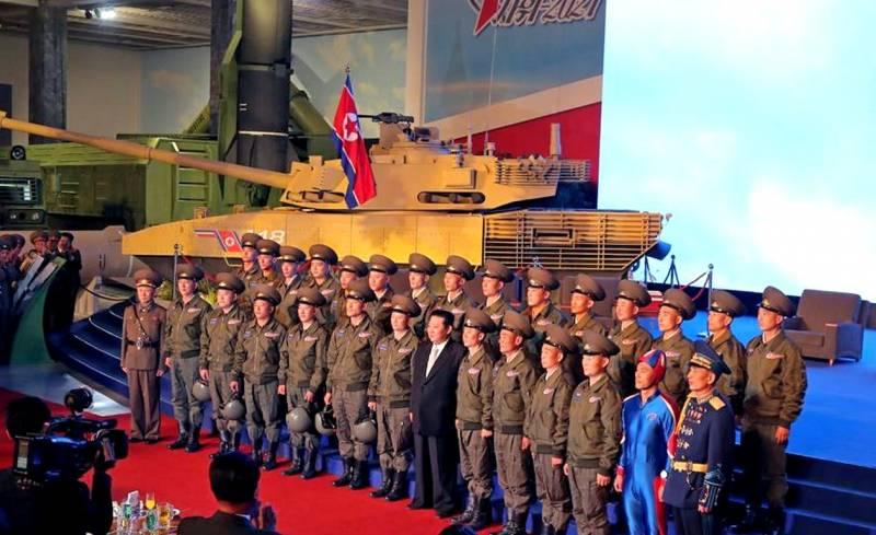Северокорейский гибрид «Арматы» и «Абрамса»: В Пхеньяне показали новый основной боевой танк