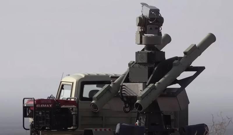 В Иране показали уничтожение цели новым ЗРК AD-08 «Маджид»