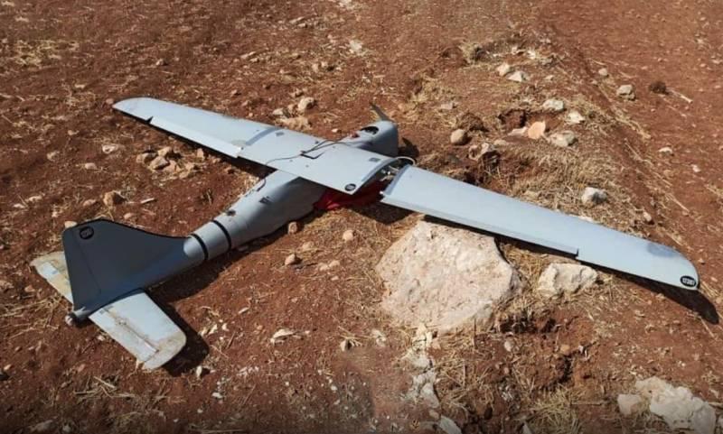 Протурецкие боевики заявили о потере Россией беспилотника в Сирии