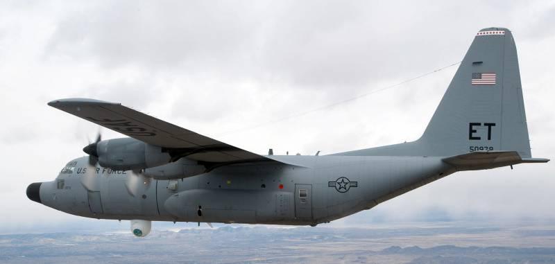 Боевой лазер AHEL для самолета огневой поддержки AC-130J Ghostrider