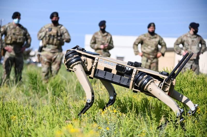 Проект SPUR: робот-собака становится снайпером