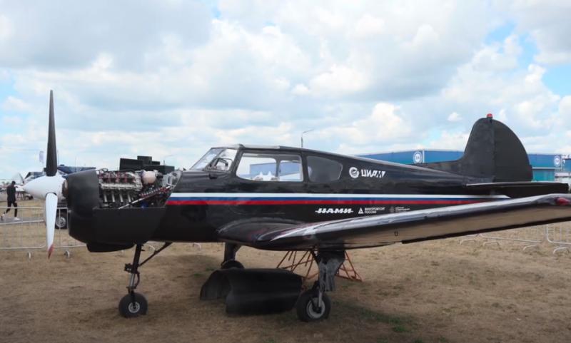 Российский перспективный авиационный двигатель АПД-500 от Aurus готов поднять Як-18Т в небо