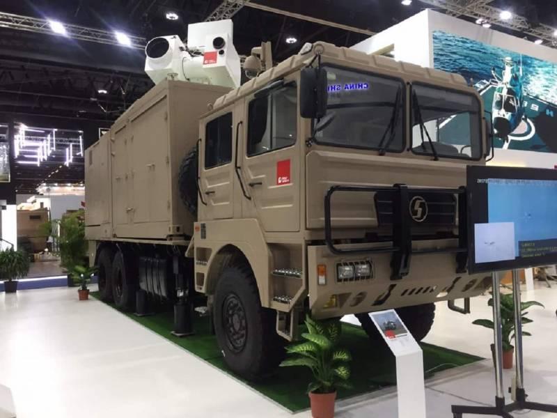 Китайские боевые лазеры ПВО