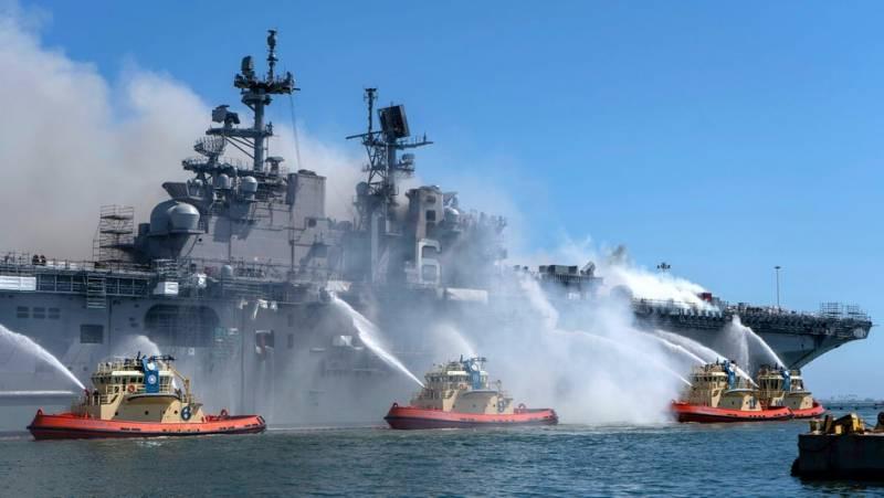 Американский эксперт заявляет о кризисе в ВМС США - самом крупном со времен Второй мировой войны